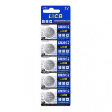 3V - CR2032 - Lithium Battery - 5 Pack