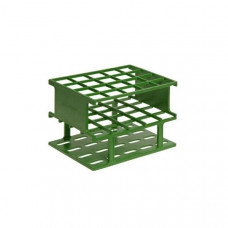 Test Tube Half Rack - Unwire - 20mm - 20PL - Green - 5972-0420