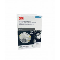 3M 8210 Face Mask - N95 Respirator - 20 Pack