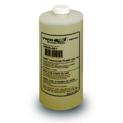 Vacuum Pump Oil - No. 19 - 1 liter