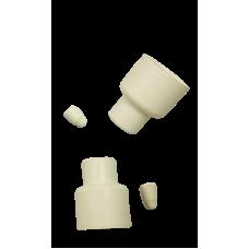 White Septum Stoppers - 24/40