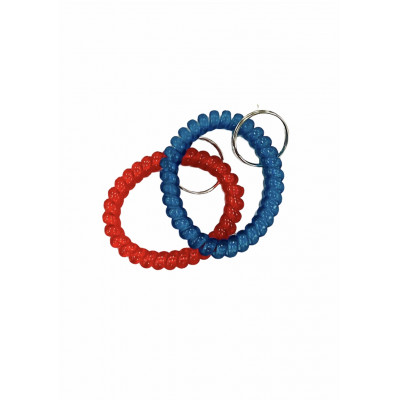 Keychain - Wrist Coil - Multiple Colors