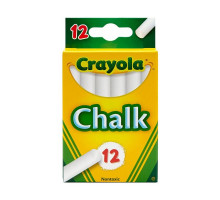Crayola Chalk Sticks - White & Mixed Colors