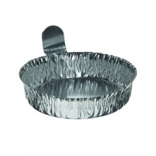 Aluminum Weighing Dishes - 57mm - 144 Pack