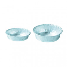 Aluminum Weighing Dishes - 100 Pack
