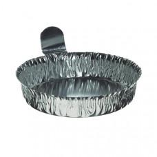 Aluminum Weighing Dish - 70mm - 100 Pack