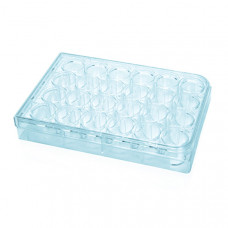 Cell Culture Microplate - Flat Bottom - 24 Wells - Costar